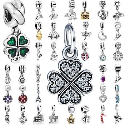 Charms Beads Pendant For 925 Sterling Silver European Bracelet Necklace](Beads For Necklaces)