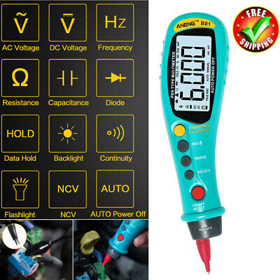 Aneng B01 Pen Type Digital Multimeter Auto-rang True Rms Ncv Acdc Voltage Meter