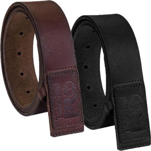 Timberland Pro Leather Belt Non Mutilating, No Scratch, No Buckle Mechanic Belt