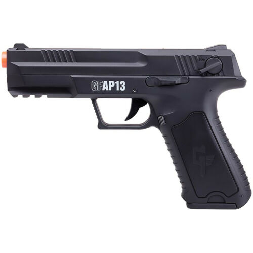 Game Face GFAP13 Full/Semi-Auto Airsoft Pistol with Rechargeable Battery 250 FPS