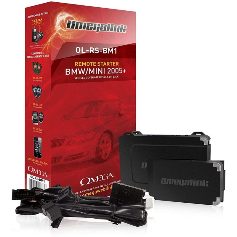 Omega Bmw/Mercedes Data-Start Module (Requires T-Harness) Ol-Rs-Bmz