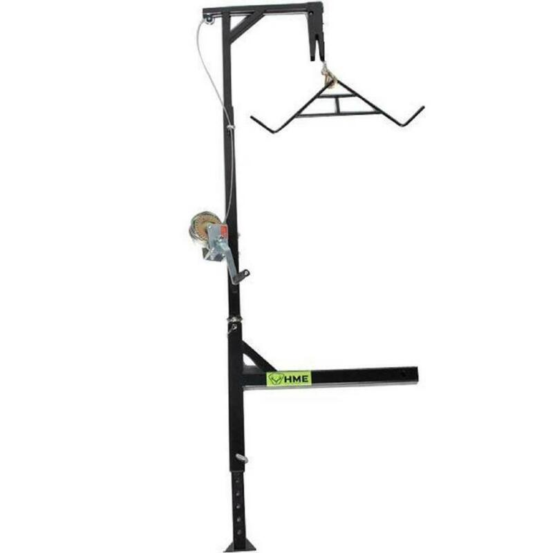 HME HMEHH Truck Hitch Game Hoist - Complete Kit (Includes Winch/Gambrel)