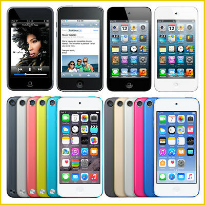 1 Apple Ipod Touch (Apple iPod Touch 1st, 2nd, 3rd, 4th, 5th, 6th Generation / 8GB, 16GB, 32GB, 64GB)