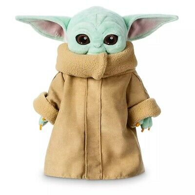 30cm Baby Yoda Plush Toy Master The Mandalorian Force Stuffed Dolls Gift Kids @@