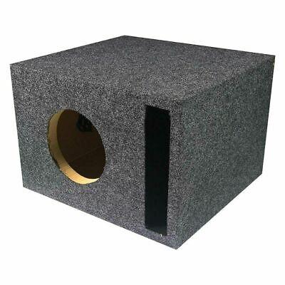 "NEW 6.5"" Ported Subwoofer Bass Cabinet Box.Speaker Enclosure"