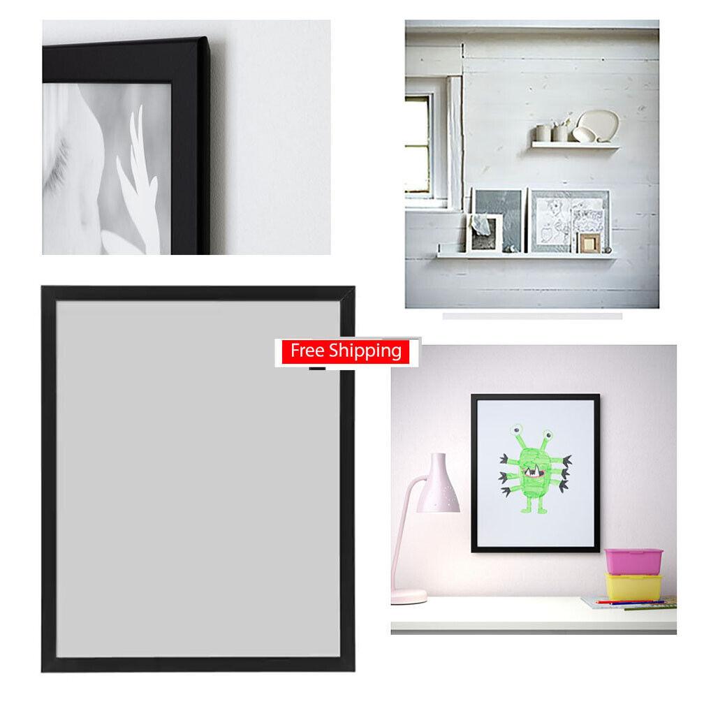 "IKEA Picture Frame FISKBO Photo Frames 16x20"" 1 or 2-Pk, Bla"