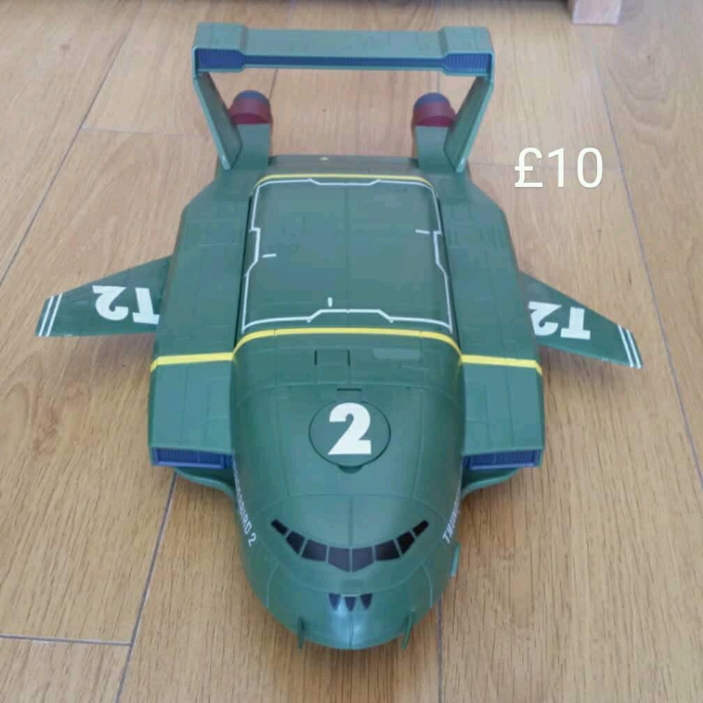 Large Thunderbird 2 toy