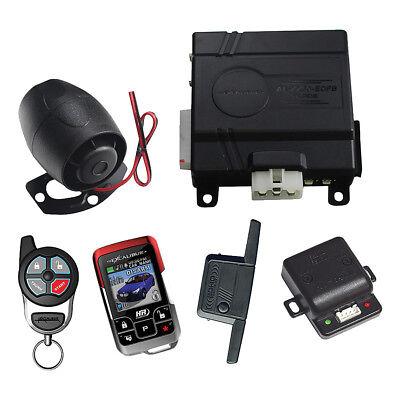 EXCALIBUR AL2060EDPB Omega 1 Mile Color 2-Way Security & Remote Start Alarm C...