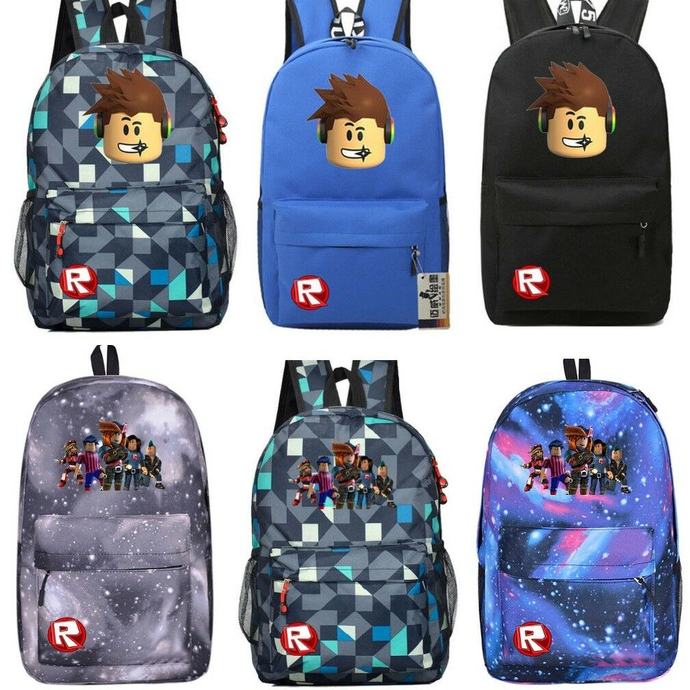 Roblox Backpack Kids School Bag Students Boys Bookbag Handbags Travelbag UK d00246d11f909