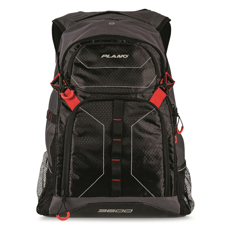 PLANO PLABE611 Plano E-Series 3600 Tackle Backpack - Black