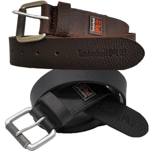 Timberland Pro Leather Belt Men Bp0013-rubber Patch Work Belt 38mm