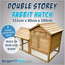 2 Storey Multipurpose Pet Hutch w/ Under-Run North Melbourne Melbourne City Preview