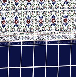 Dolls House Victorian Wallpaper Kitchen Bathroom Quality Satin Pearl Paper #25