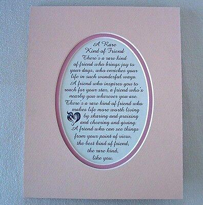RARE Friendship BEST FRIEND INSPIRES Sharing GIVING KIND verses poems (Best Friend Love Poems)