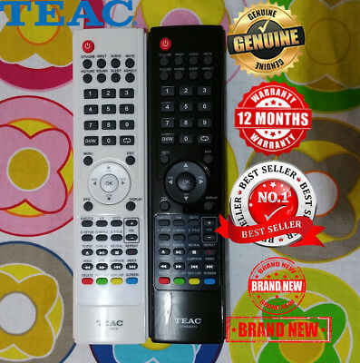 TEAC Brand New Original TV Remote Control 0118020315 LCDV2656HDR LCDV3256HDR