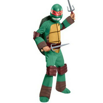 TMNT Raphael Deluxe Halloween Costume Child Boy S L Teenage Mutant Ninja Turtle](Baby Tmnt Halloween Costumes)