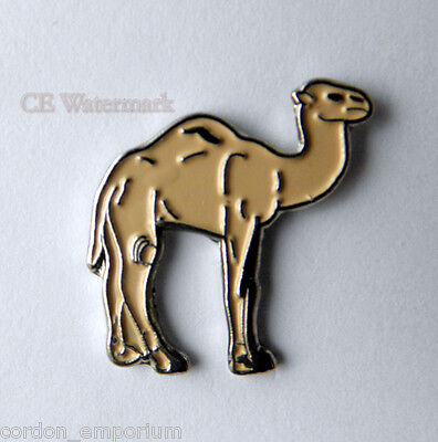 1 HUMP CAMEL AFRICAN ANIMAL LAPEL PIN BADGE 1 INCH