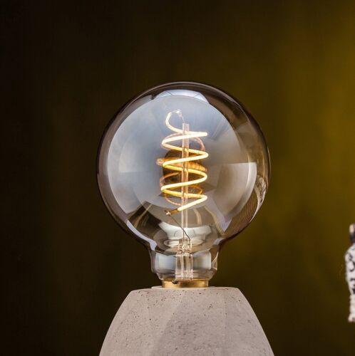 2W LED G95 Filament mit herz Form 100lm 2200k E27 Retro Edison bulb