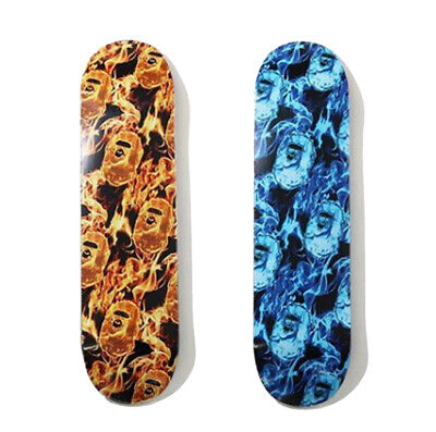 2020 S/S A BATHING APE Men's BAPE FLAME SKATEBOARD 2colors From Japan New