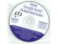 52 Sweet Georgia Brown CD+G Karaoke Discs