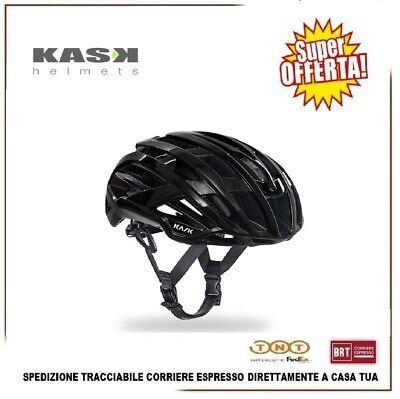 Casco Bici KASK Valegro MTB Carreras Carretera Ciclismo Negro Tamaño M 52-58cm