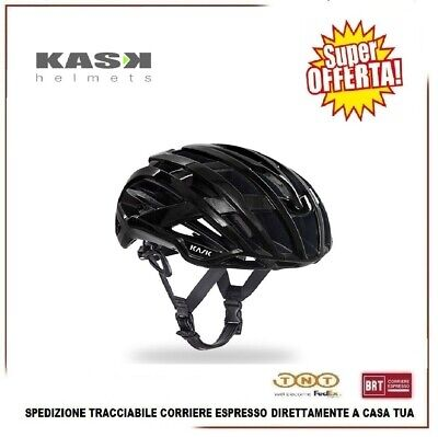 Casco Bici KASK Valegro MTB Carreras Carretera Ciclismo Negro Tamaño L 59-62cm