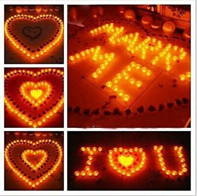 32 Stück  LED Teelichter inkl. Batterien flackernd Teelicht Kerzen Set  Kerze