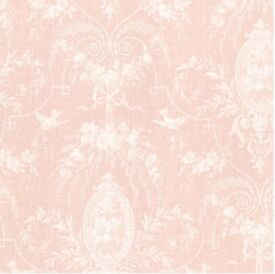BHF 302-66815 Flourish Blush Cameo Fleur Wallpaper 2 ROLLS AVAILABLE