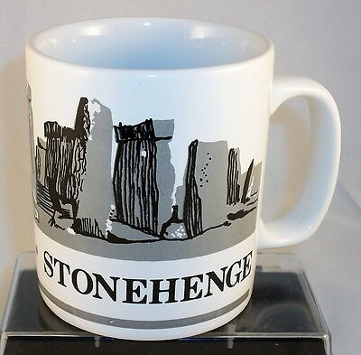 Stonehenge Mug by Kilncraft Staffordshire England English Heratage Druid Site
