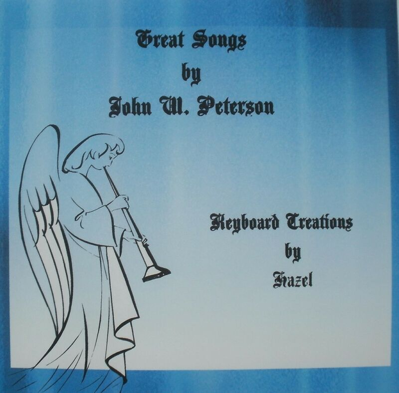 Great Songs by John W Peterson-Christian CD instrumental Keyboard Accompaniment