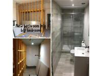 bathroom,kitchen fitting joinery from A to Z. Flooring, Plumbing, tiling and Decorating.