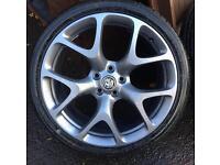 """Vauxhall 20"""" Alloys. VXR Alloy Wheels"""