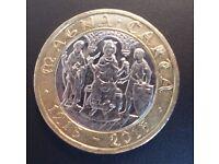 RARE !!!* - 2015 MAGNA CARTA £2 TWO POUND COIN