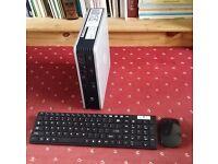 Windows 10 Slim PC, Core2Duo 6Ghz 64bit, 4GB RAM, 160GB HD, NEW Wireless Keyboard Mouse, Office 2013