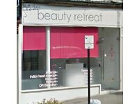 Beauty Therapy room and Nail table available for rent, Worcester Park, Surrey
