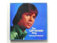 The Cliff Richard Story - 6 LP Box Set - Excellent condition - Lovely gift for a fan.