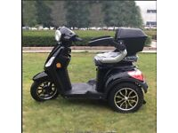 3 wheel Electric mobilty scooter 60 v In black