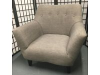 Isla grey chair armchair nursing chair excellent condition
