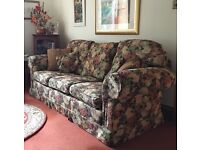 Free for uplift. Immaculate, high quality, sofa and chair.