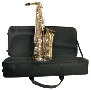 NEW Mirage SX60A Polished Brass Alto Sax with Case