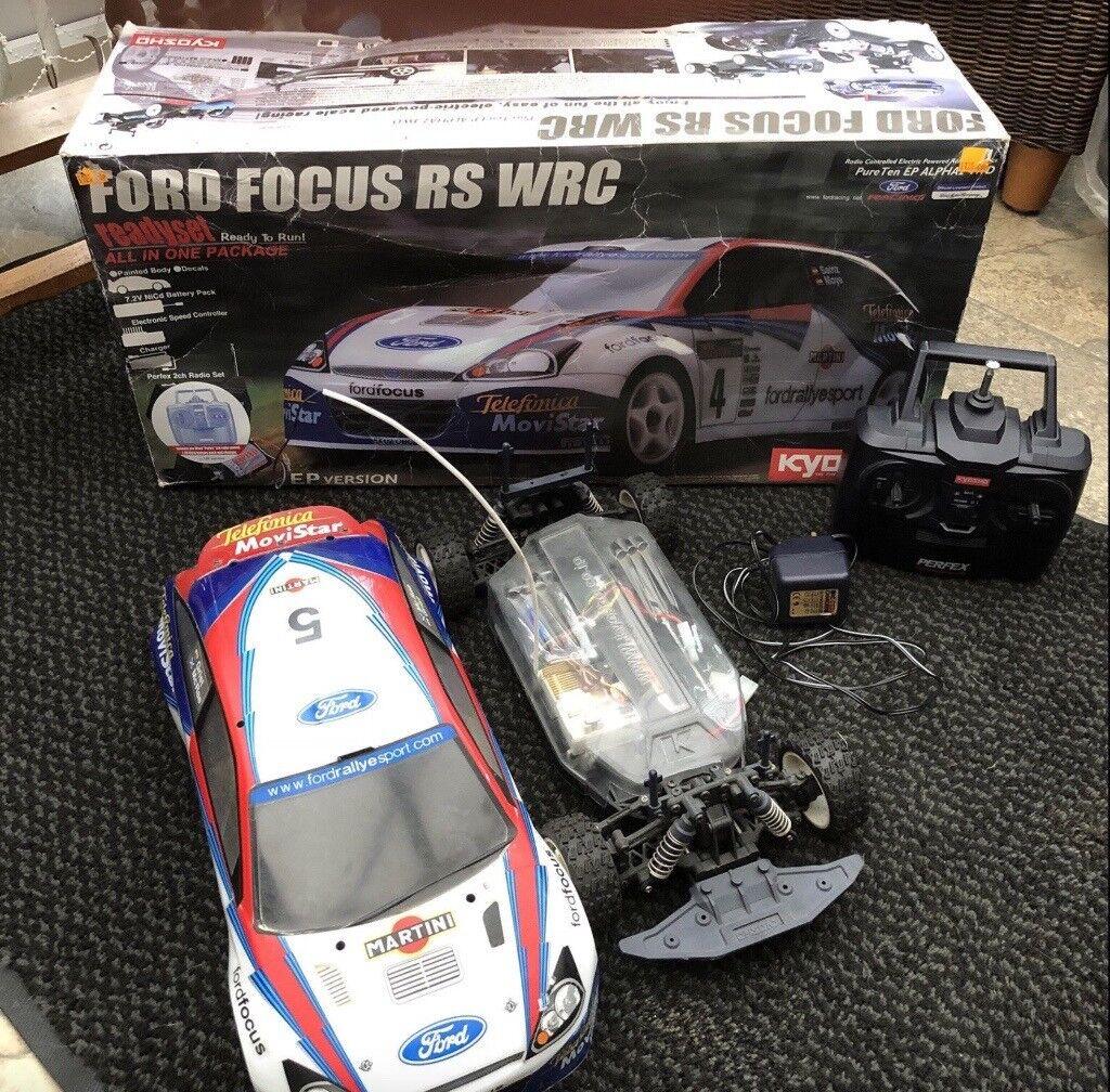 Kyosho Ford Focus Rc Car