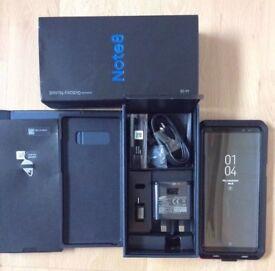 New Samsung Note 8 SM - N950 - 64GB Midnight Black ( Unlocked) Smartphone