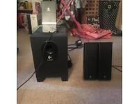 Logitech PC / gaming speakers READ DESCRIPTION