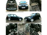 Bmw x3 2.0d sport .. swap van with rear seats. Vivaro. Trafic. Vito. Transporter ect