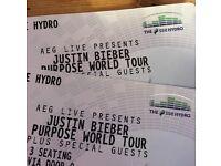2 Justin Bieber Tickets