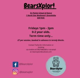 BearsXplor Under Two's Group