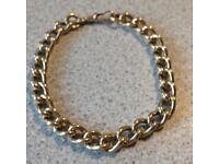 "9ct Gold Bracelet, 35g, 8.5"""