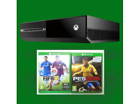 Xbox ONE 500GB console NEW SEALED Minecraft Edition Games FIFA 15, PES Soccer 16