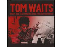Tom Waits – Never Talk To Strangers: Rare Radio Appearances MINT SEALED