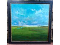 Large Framed Canvas Print Landscape
